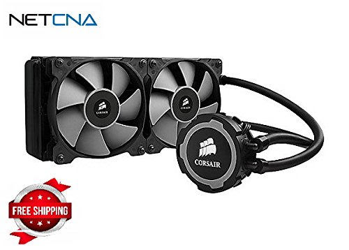 Corsair Hydro Series H105 240mm Extreme Performance Liquid CPU Cooler - liq - By NETCNA (Corsair H105 Cooler compare prices)