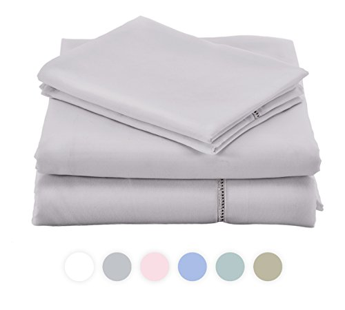 Viscosoft grace sheet collection made with high quality for Ikea silver spring