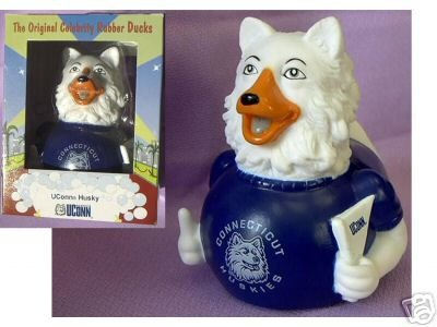 University of Connecticut UConn Husky Celebriduck Limited Edition