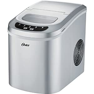 Oster OSIM22SV 27-Pound Portable Ice Maker