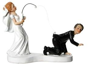 SiDeSo® Tortenaufsatz lustig Schnur Hochzeit lustig Tortendeko ...