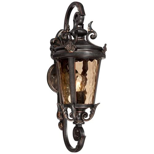 "Casa Marseille 19"" High Bronze Outdoor Wall Light"