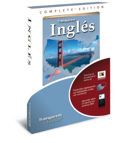 Complete Edition Ingles For Spanish Speakers Software & Audio Learning Cd-Rom For Windows Only