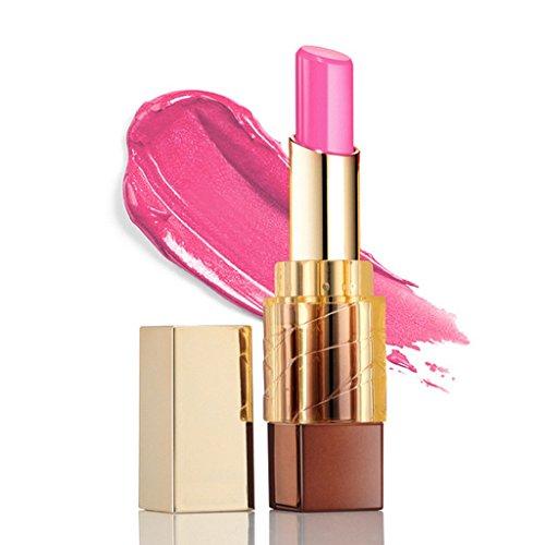 Aucun des produits chimiques toxiques,DISINO Tous Maquillage Cosmétique Naturel Matte Glam Waterproof service Brilliance Liquid Long Lasting Lipstick Lip Gloss - Rose