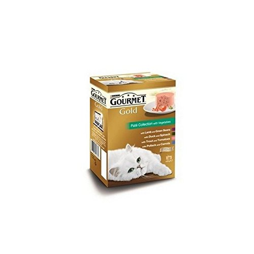 Gourmet Gold Adult Cat Pate Collection Wet Food Can 12x85g (1.02kg)
