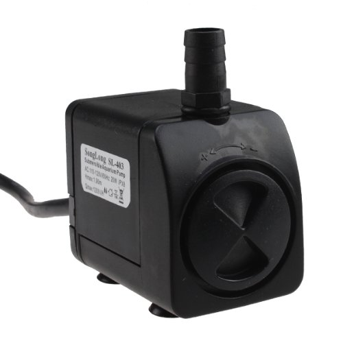 AGPtek® Indoor Outdoor Electric Submersible 20W 320GPH Water Fountain Pump 6ft cable length
