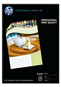 HP Brochure and Flyer Paper - Matte paper - A4 (210 x 297 mm) - 180 g/m2 - 100 sheet(s)