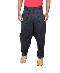 Liash Men's Twill Pants (LIASH-2021_Black_34)