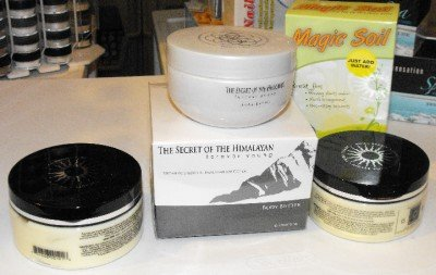 Swisa Beauty 2x Body Butter Milk and Honey + Swisa Himalayan Body Butter Young Forever the Best! + Crrystal Soil