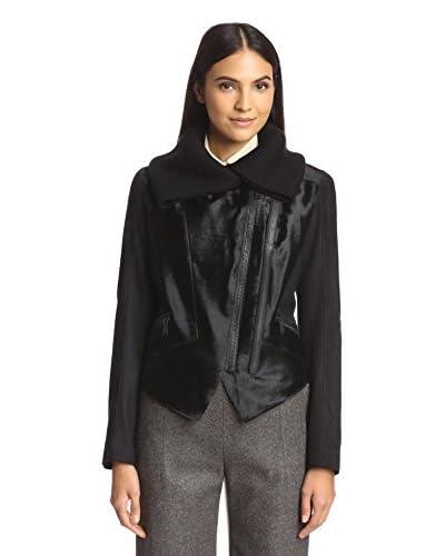 Elie Tahari Women's Viola Fur & Suede Jacket