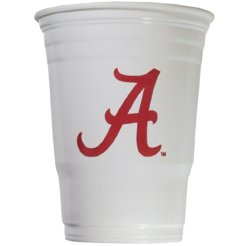 Alabama Crimson Tide Official NCAA Game Day Cups by Siskiyou 287879 CGDC13