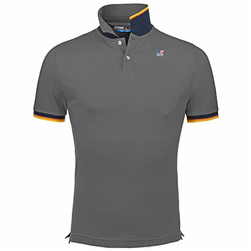 Polo Shirts - VINCENT CONTRAST - K-Way - 16Y - Md grey mel