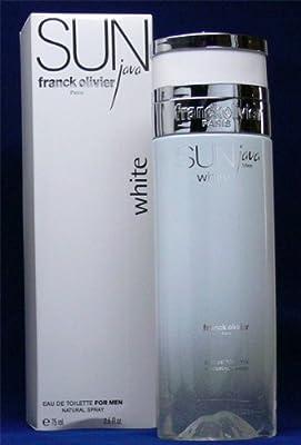 Sun Java White For Men By Franck Olivier - 25 Oz Edt Spray from Franck Olivier