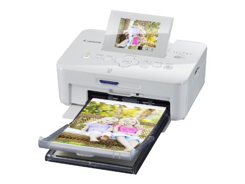 Best Review Of Canon SELPHY CP910 Portable Wireless Compact Color Photo Printer, White