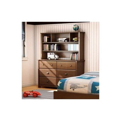 Cheap Willow Kids Dresser and Hutch Set Finish: Cherry (3356027 / 3356072)