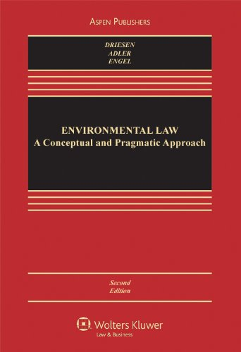 Environmental Law: Conceptual & Functional Approach...