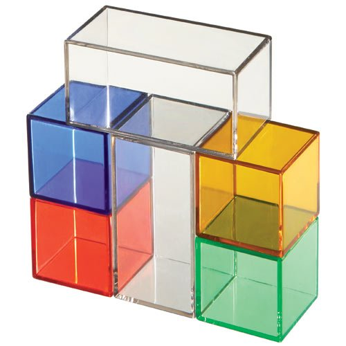 Acrylic Glass Blocks Construction Toys