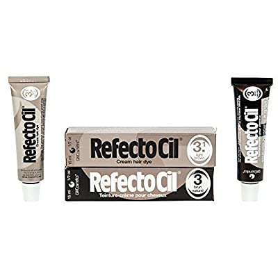 Refectocil Twin Pack Light Brown and Natural Brown Cream Hair Dye, 15ml X 2