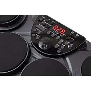 Pyle-Pro PTED01 Electronic Table Digital Drum Kit Top w/ 7 Pad Digital Drum Kit
