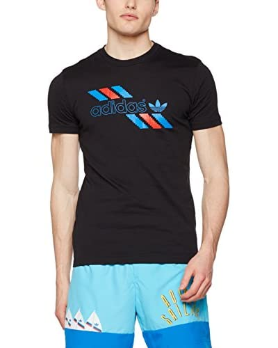 adidas T-Shirt Manica Corta Linear T  [Nero]