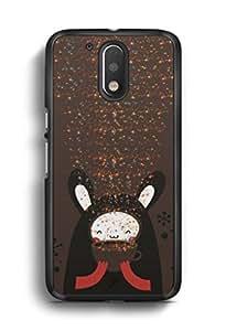 YuBingo Cute Bear Designer Mobile Case Back Cover for Motorola G4 Plus