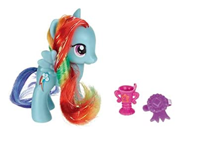 My Little Pony - A2364E240 - Poupée - Poney Ami - Crystal Rainbow Dash