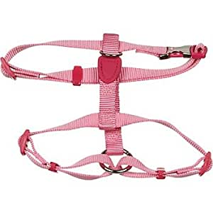 Petmate Signature Series 1-Inch by 28-36-Inch Pet Harness, Hot Pink
