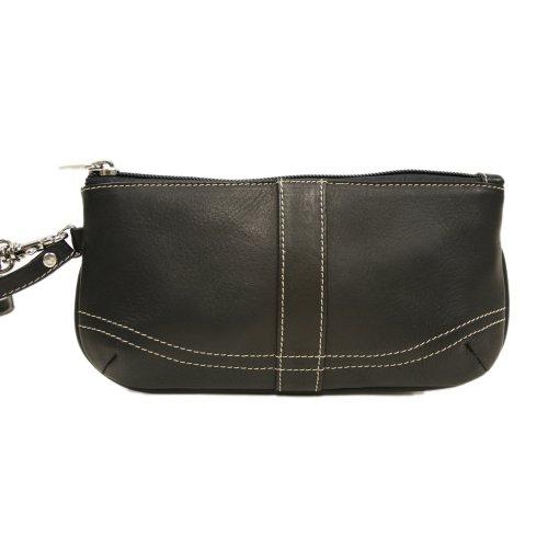 Piel Leather Large Ladies Wristlet 女款真皮手拿包 $24.79+$2.39(需用码,直邮到手约¥170)