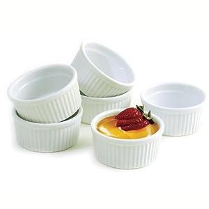 Norpro 6 Piece Porcelain Ramekin Set