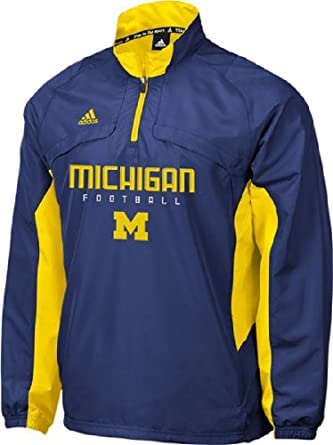 University of Michigan Wolverine Officially Licensed Clima Windbreaker Jacket by adidas