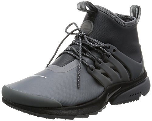 Nike Women's W Air Presto Mid Utility, DARK GREY/DARK GREY-REFLECT, 8 US (Nike Sneakers Women Presto compare prices)