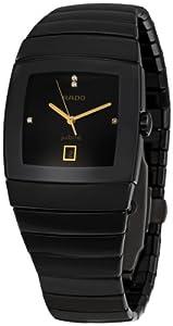 Rado Men's R13724712 Sintra Black Dial Watch