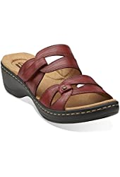Clarks Women's Hayla Canyon Slide Casual Sandals