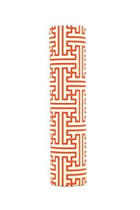 kaarskoker Fretwork 4-Inch-by-7/8-Inch Candle Covers, Set of 2, Red