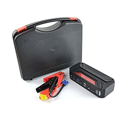 SUZEZON Multi-Functional Jump Starter 16500mAh Car Jump Starter Booster for Gasoline and Diesel Vehicle Mobile Phone Battery Charger