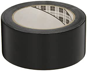 3M General Purpose Vinyl Tape 764 Black, 2 in x 36 yd 5.0 mil (Pack of 1)