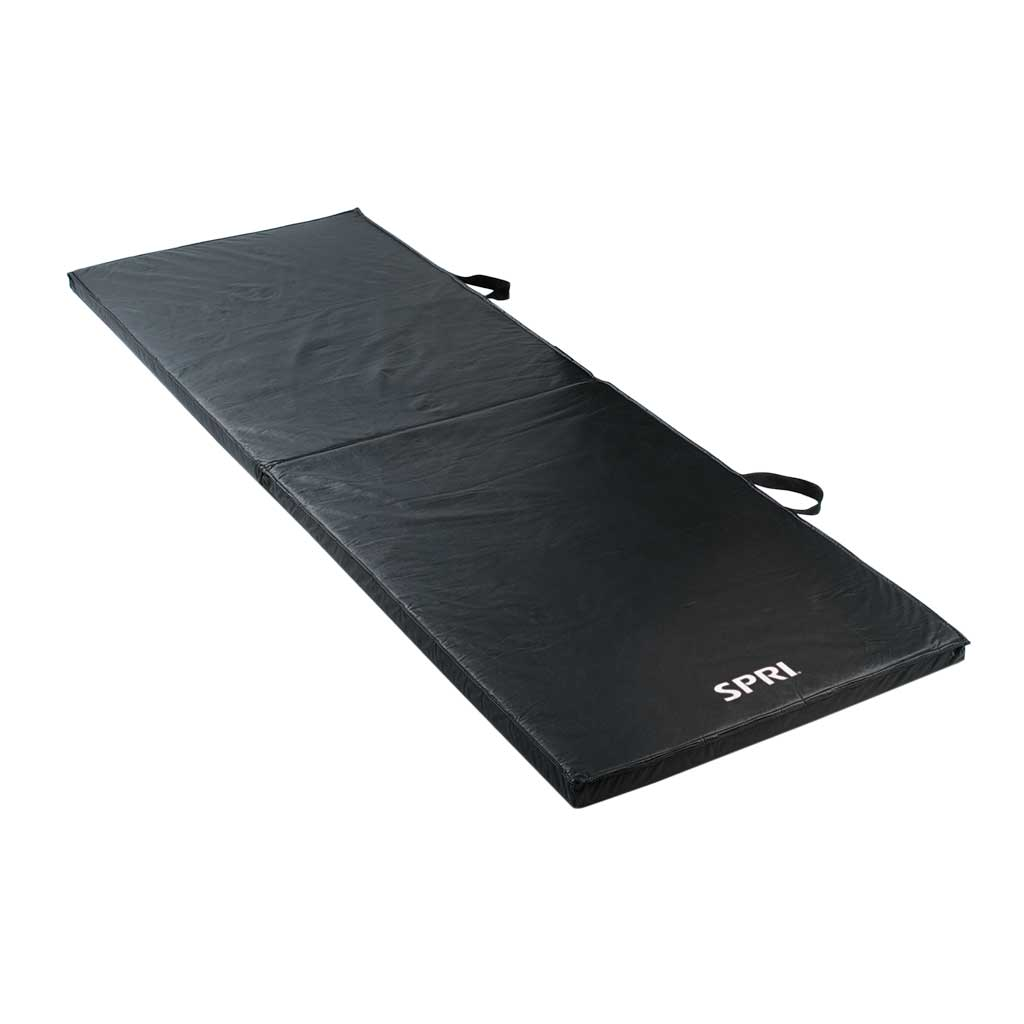 Amazon Com Spri Folding Exercise Mat 72 Inch Spri