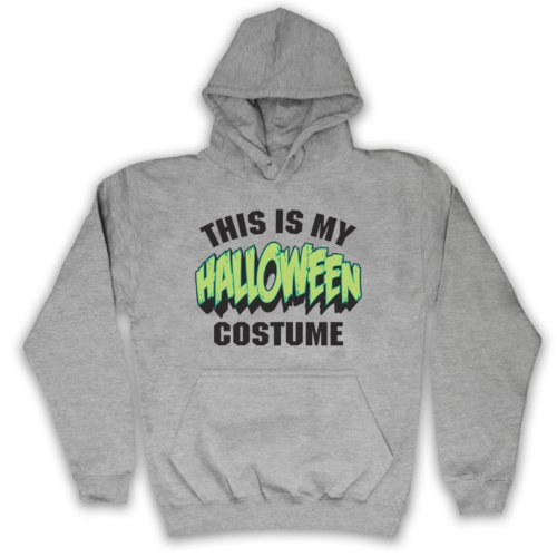 My Icon Men's This Is My Costume Halloween Adults Hoodie