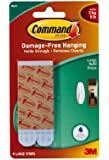 Command Large Water-Resistant Refill Strips, 4-Strip