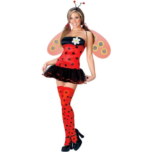 Leggy Ladybug Costume - Small/Medium - Dress Size 2-8