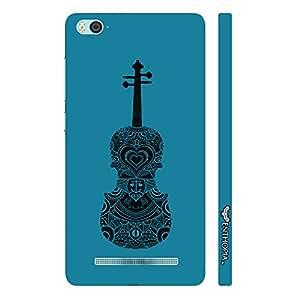 Xiaomi 4i Violin Rocks designer mobile hard shell case by Enthopia