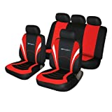 Mercedes-Benz E Class Red and Black Sports Style Car Seat Covers