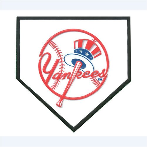 New York Yankees Home Plate Stepping Stone Sports & Outdoors