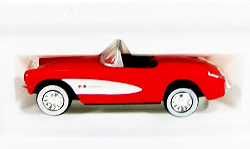2001 The Reader's Digest Association 1957 Corvette Toy Car, Red
