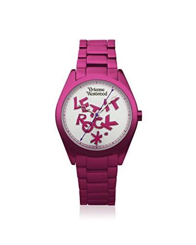 Vivienne Westwood Women's VV072SLPK St. Paul Pink/Silver Stainless Steel Watch