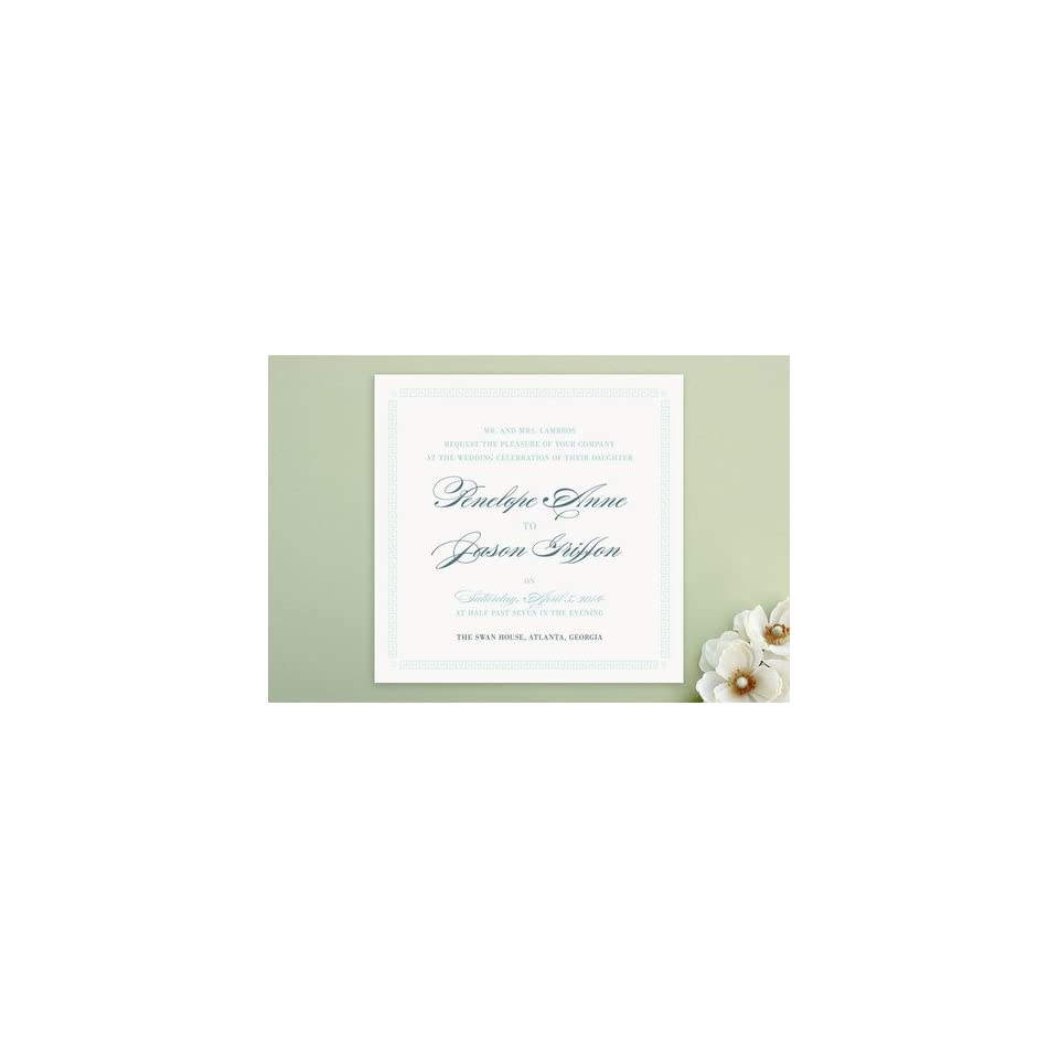 Greek Key To Happiness Wedding Invitations By Shar On PopScreen