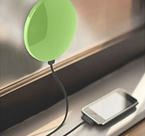 Window Solar Charger for Mobile Phones with 1800mah Ultra-high Capacity Battery, Apple Ipod, Iphone 6, 6 Plus, 5s, 5c, 4s, 4, Ipods, Ipad Mini Retina (Apple Lightning Adapter Included), Samsung Galaxy Note 2, Note 3, S2 S3, S4, S5, Most Android/windows Smart Cell Phones, Galaxy Note 4 3, Galaxy S5 S4 S3, Lg G3, Nexus, HTC One M8, Gopro Camera, GPS Mp3, Mp4, Samsung Galaxy S3 S4 S5 Note1 2 3 Tab, Blackberry, All Cell Phones, Tablets and Touchpads, Cameras, Small Appliances with USB ; Charger Can Stick on Win