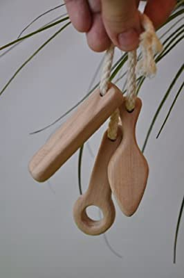 Natural organic Wooden Baby Teether Sticks