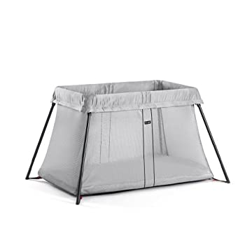 BabyBjorn Travel Crib Light (Silver)