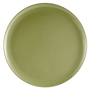 Zak Designs Solid Green 10-Inch Melamine Dinner Plate
